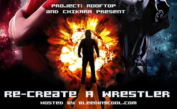 recreate a wrestler
